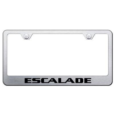Cadillac Escalade Chrome License Plate Frame | ShopSAR.com