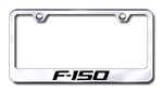 Ford F150 Chrome License Plate Frame