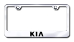 Kia Premium Chrome License Plate Frame