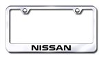 Nissan Chrome License Plate Frame