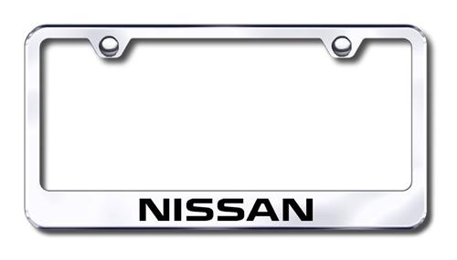 Nissan Chrome License Plate Frame | ShopSAR.com