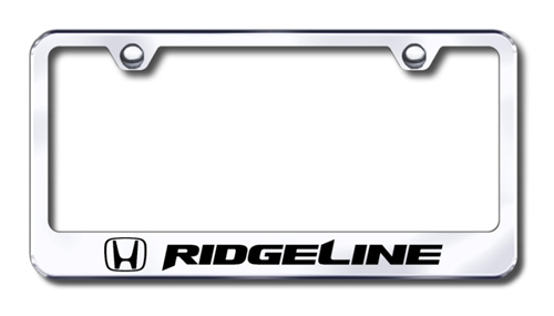 Honda Ridgeline Chrome License Plate Frame   ShopSAR.com