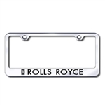 Rolls Royce Chrome License Plate Frame