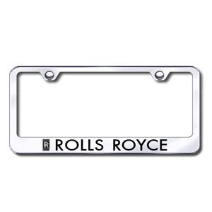 Rolls Royce Chrome License Plate Frame Shopsar Com