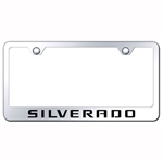Chevrolet Silverado Premium Chrome License Plate Frame