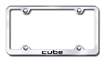 Nissan Cube Chrome License Plate Frame