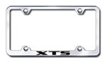 Cadillac XTS Chrome License Plate Frame