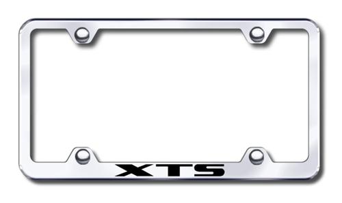 Cadillac XTS Chrome License Plate Frame | ShopSAR.com