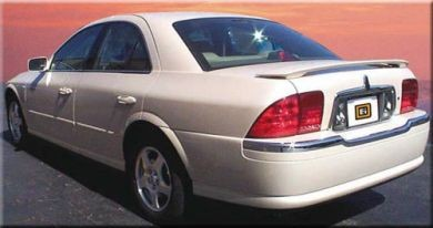 Lincoln Ls Painted Rear Spoiler 2000 2001 2002 2003