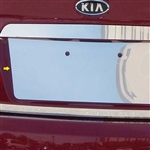 Kia Forte Chrome License Plate Bezel, 2010, 2011, 2012, 2013