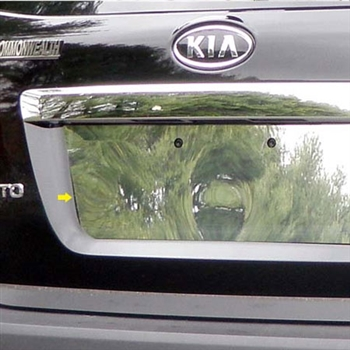 Kia Sorento Chrome License Plate Bezel, 2011, 2012, 2013, 2014, 2015