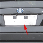 Toyota Prius Chrome License Plate Bezel, 2016, 2017, 2018, 2019, 2020, 2021