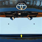 Toyota C-HR Chrome License Plate Bezel, 2018, 2019