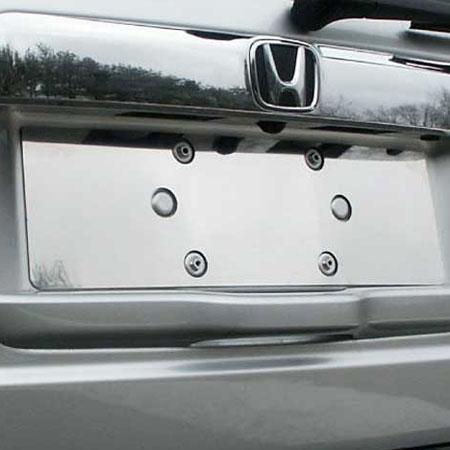 Honda Pilot Chrome License Plate Bezel 2009 2010 2011