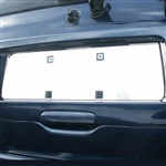 GMC Envoy Chrome License Plate Bezel, 2002, 2003, 2004, 2005, 2006, 2007, 2008, 2009