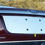 Ford Fusion Chrome License Plate Bezel, 2006, 2007, 2008, 2009, 2010, 2011, 2012