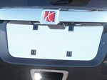 Saturn Outlook Chrome License Plate Bezel, 2007-2010