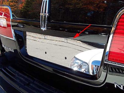 Lincoln Navigator Chrome License Plate Bezel 2007 2008