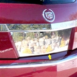 Cadillac CTS Sport Wagon Chrome License Plate Bezel, 2010, 2011, 2012, 2013, 2014