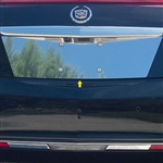 Cadillac XTS Chrome License Plate Bezel, 2013, 2014, 2015, 2016, 2017