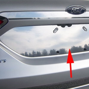 Ford Fusion Chrome License Plate Bezel 2013 2014 2015