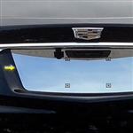 Cadillac XT5 Chrome License Plate Bezel, 2017, 2018, 2019