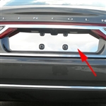 Lincoln Continental Chrome License Plate Bezel, 2017, 2018, 2019