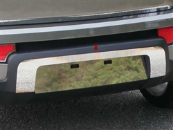 Kia Soul Chrome License Plate Surround, 2010, 2011