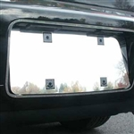 Lincoln MKZ Chrome License Plate Bezel with Surround Trim, 2007, 2008, 2009