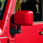 Jeep Wrangler Painted Mirror Covers, 2007, 2008, 2009, 2010, 2011, 2012, 2013, 2014, 2015, 2016, 2017, 2018