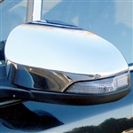Toyota Corolla Chrome Mirror Covers, 2014, 2015, 2016