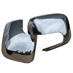 Chevrolet HHR Wagon Chrome Mirror Covers, 2006, 2007, 2008, 2009, 2010, 2011