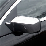 Lincoln MKZ Chrome Mirror Covers, 2007, 2008, 2009, 2010, 2011, 2012