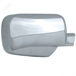 Nissan Titan Chrome Mirror Covers, 2004, 2005, 2006, 2007, 2008, 2009, 2010, 2011, 2012, 2013, 2014