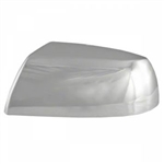 Toyota Tundra Chrome Mirror Covers (half), 2007, 2008, 2009, 2010, 2011, 2012, 2013, 2014, 2015, 2016, 2017, 2018, 2019, 2020