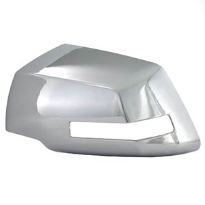Chevrolet Traverse Chrome Mirror Covers, 2009, 2010, 2011, 2012, 2013, 2014, 2015, 2016, 2017
