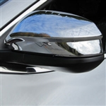 Toyota Highlander Chrome Mirror Covers, 2014, 2015, 2016, 2017, 2018, 2019