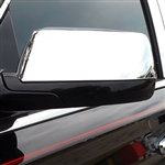 Chevrolet Suburban Chrome Mirror Covers, 2015, 2016, 2017, 2019, 2020