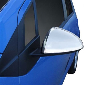 Chevrolet Spark Chrome Mirror Covers, 2013, 2014, 2015