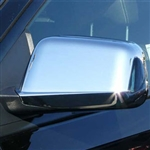 Lincoln MKX Chrome Mirror Covers, 2007, 2008, 2009, 2010, 2011, 2012, 2013, 2014, 2015