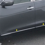 Nissan Rogue Chrome Door Accent Trim, 2014, 2015, 2016, 2017, 2018, 2019, 2020