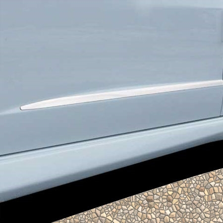 2009   2013 Honda Fit Stainless Steel Door Moulding Trim
