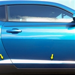 Chevrolet Camaro Chrome Door Molding Insert Trim, 2010, 2011, 2012, 2013, 2014, 2015
