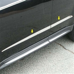 Chevrolet Equinox Chrome Door Accent Trim, 2010, 2011, 2012, 2013, 2014, 2015, 2016, 2017