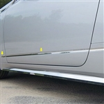 Cadillac CTS Coupe Chrome Door Molding Insert Trim, 2011, 2012, 2013, 2014