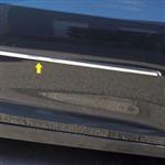 Chevrolet Malibu Chrome Door Molding Insert, 2013, 2014, 2015