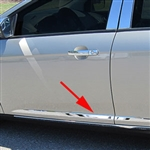 Ford Focus Sedan Chrome Side Molding Trim, 2015, 2016, 2017, 2018