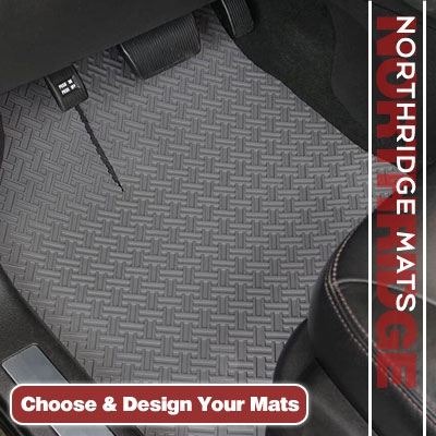 NorthRIDGE All Weather Floor Mats