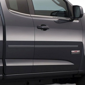 Chevrolet Colorado Painted Body Side Moldings (mid door), 2015, 2016, 2017, 2018, 2019, 2020