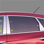 Honda Crosstour Chrome Pillar Post Trim 2010, 2011, 2012, 2013, 2014, 2015